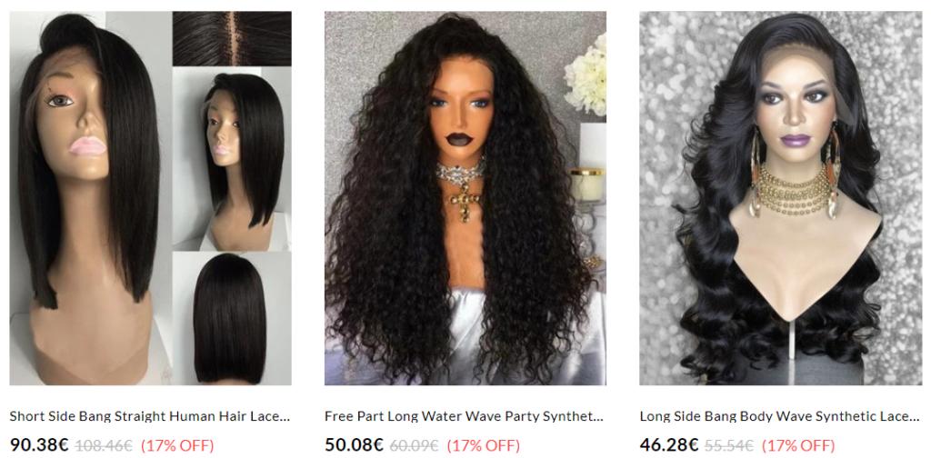 dresslily parrucche