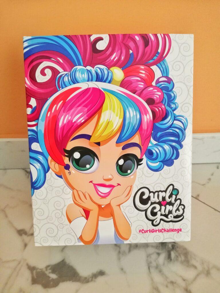 Curli girl
