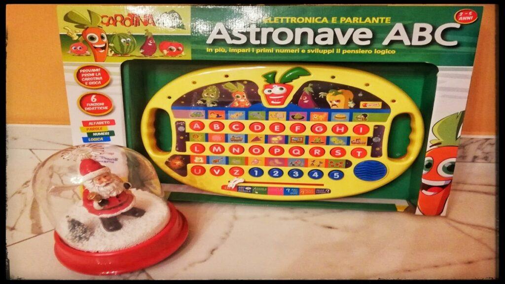 astronave ABC carotina lisciani