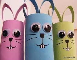 coniglietti pasquali lavoretti a casa coi bambini min